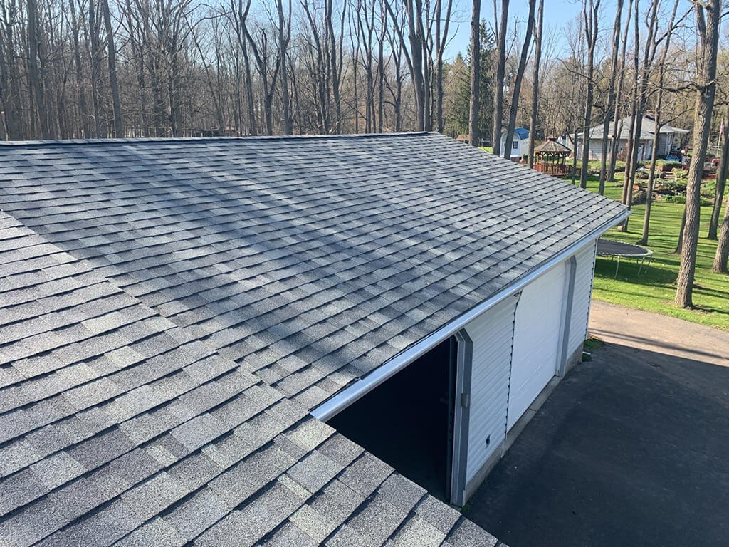 Don't brand new roofs look incredible?
